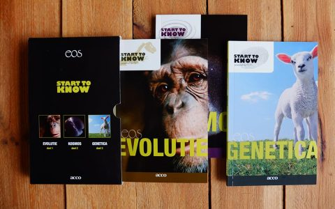 'EOS - Start To Know' Coverontwerp voor ACCO/EOS
