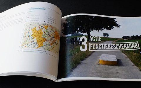 'Landelijke wegen' Coverontwerp + binnenwerk voor Politeia