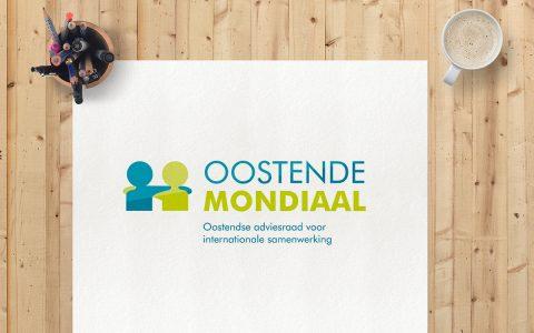 'Oostende Mondiaal' Logo-ontwerp voor Stad Oostende