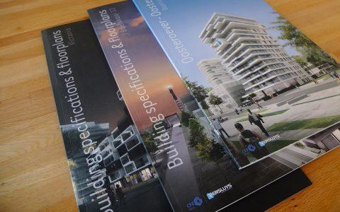 Building and Floorplans voor Project Oosteroever - Versluys Bouwgroep