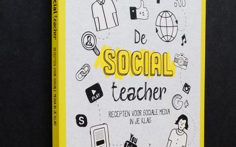 'The Social teacher' Coverontwerp  voor ACCO