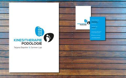 Logo-ontwerp voor Kinesitherapie / Podologie