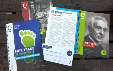Stad Oostende - Campagne Fair Trade wandeling