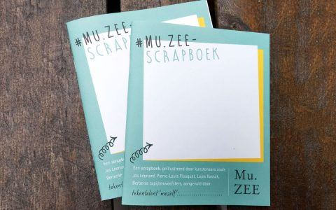 Oostende MuZee - Scrapbook voor kinderen