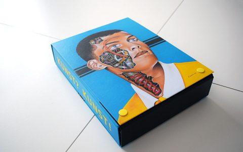 KUNST? KUNST! Zig Zag art box (moderne afrikaanse kunst)