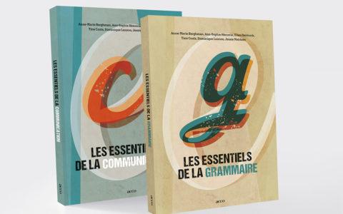 Uitgeverij Acco - Coverontwerp Reeks Les essentiels de grammaire/ communication