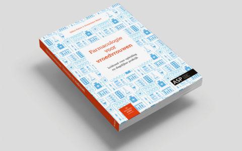 Uitgeverij ASP - Coverontwerp Farmacologie voor vroedvrouwen