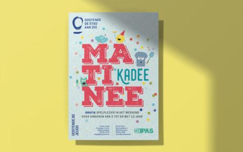 Jeugddienst Oostende - Ontwerp affiche poster Matinee Kadee