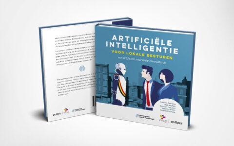 Uitgeverij Politeia - Cover Artificiële inteligentie