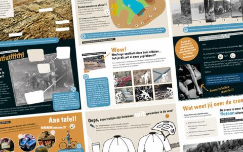 Stad Oostende - Mu-zee-um - Doeboekje voor kinderen bij de tentoonstelling Droogvis, slijk en Algipan